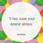 citation aristote jeu