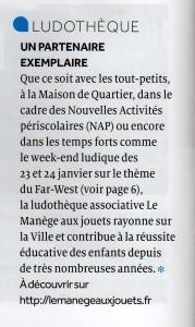 Article Mme Bourdet Mag de Fontenay
